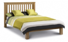 Devon Oak Bedframe - LOW footend Double/King/Superking